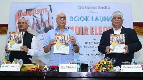 Ex-CEC Quraishi seeks to bust population myth in new book