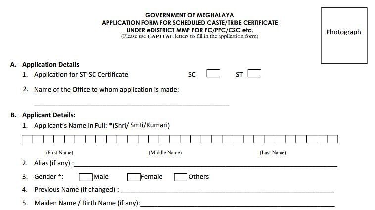 Meghalaya: Dilemma over availing SC/ST certificate with father's surname