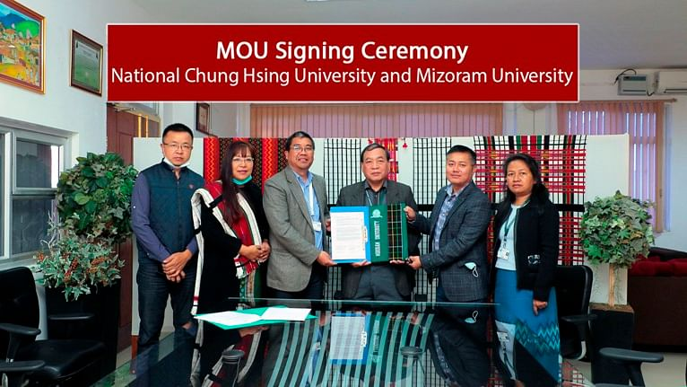 Mizoram University inks pact with Taiwan University for collaboration