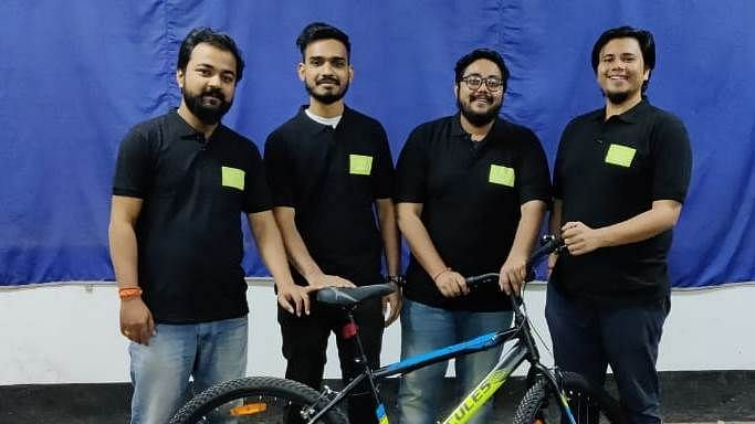 Why four Guwahati youths have launched a bicycle-sharing platform