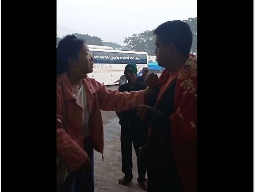 Watch: Woman confronts molester at ISBT Guwahati