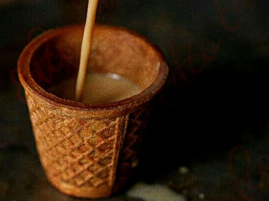 Eat this! A Guwahati cafe serves tea in edible biscuit cups