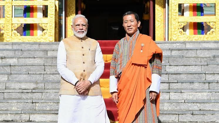 Bhutan PM wishes Modi for launching world's largest COVID-19 vaccination drive