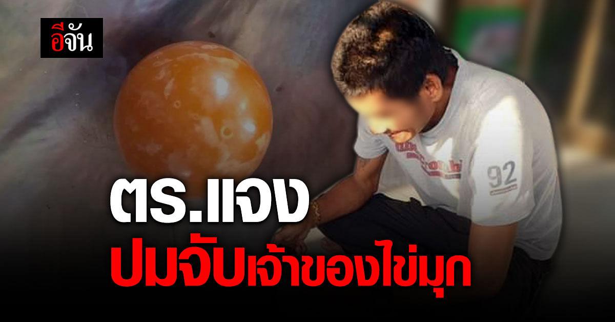 ตำรวจ แจงชัด ปมจับเจ้าของไข่มุกเมโล
