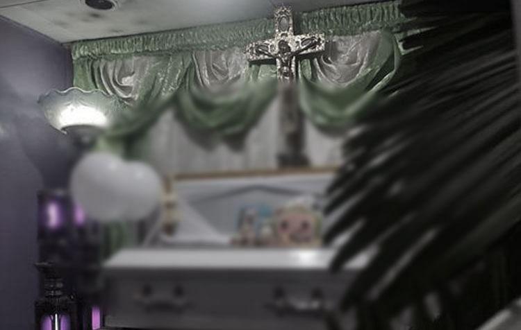 ศพเด็กกัมพูชา