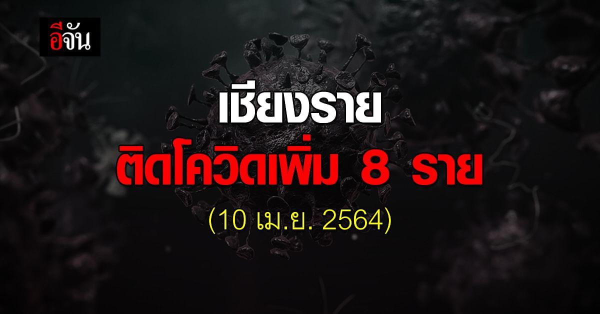 เปิดไทม์ไลน์ เชียงราย ติด โควิด19 เพิ่ม 8 ราย สะสมแล้ว 12 ราย (10เม.ย.2564)