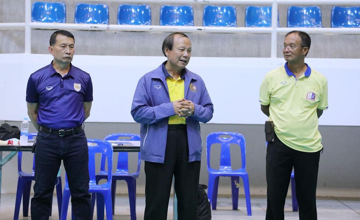 สมพร ใช้บางยาง นายกสมาคมกีฬาวอลเลย์บอลแห่งประเทศไทย