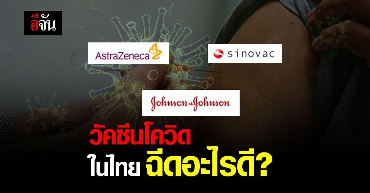 อีจันโพลล์ วัคซีนโควิด ในไทย ฉีดอะไรดี ?