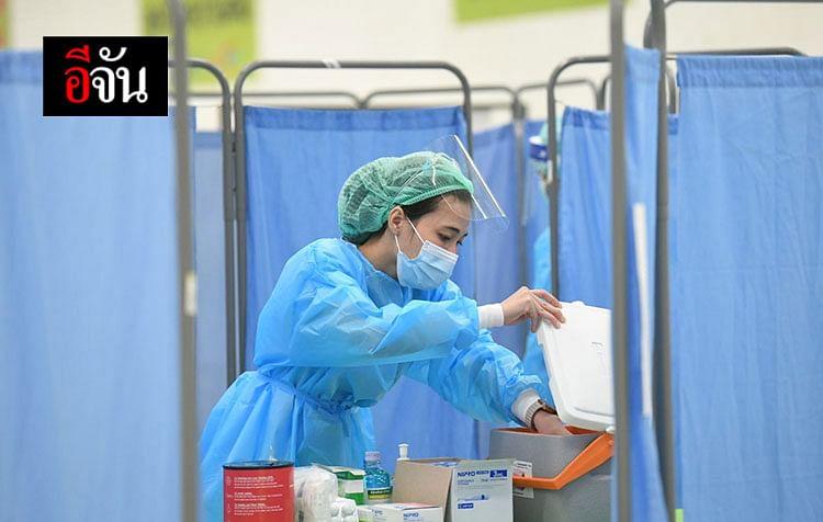 บุคลากรทางการแพทย์ จุดบริการฉีดวัคซีนโควิด นอกโรงพยาบาล