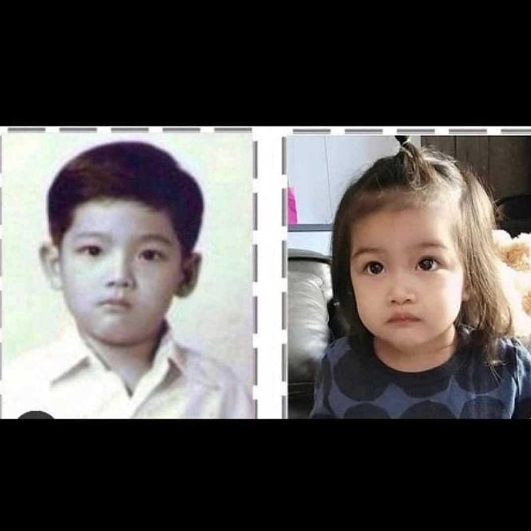น้องวีจิ กับ หนุ่ม ศรราม ตอนเด็ก