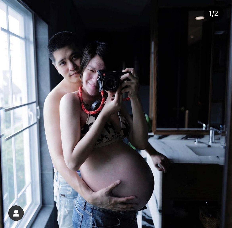 จ๊ะ จิตตาภา ภ่ายภาพท้องโตพร้อมกับแฟนหนุ่ม