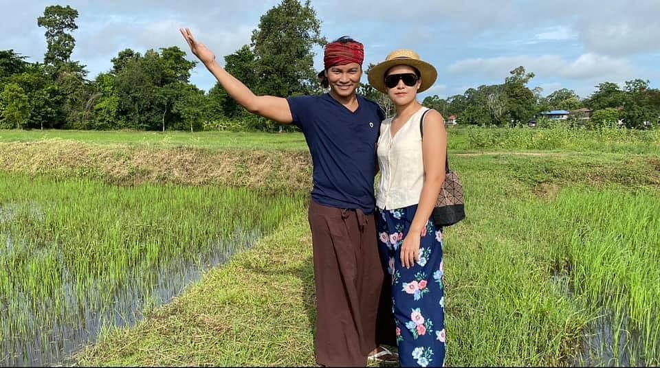 จา พนม และ ภรรยา