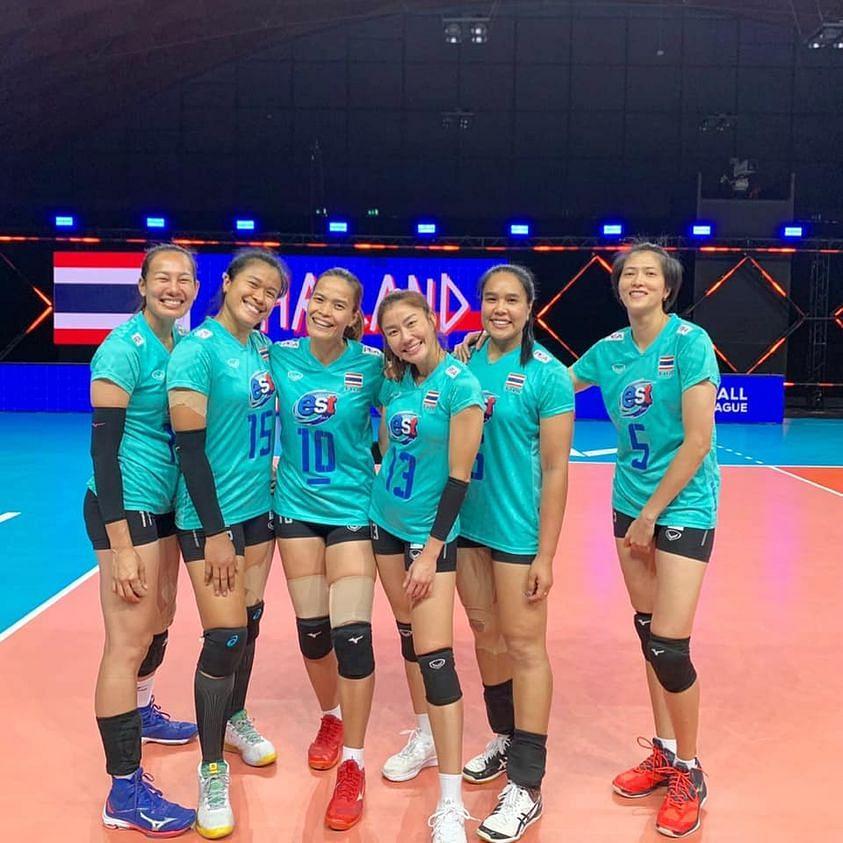 6 เซียนวอลเลย์บอลหญิงทีมชาติไทย