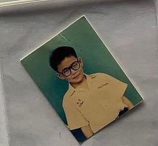 ภาพถ่ายสมัยเด็กของ แทค ภรัณยู