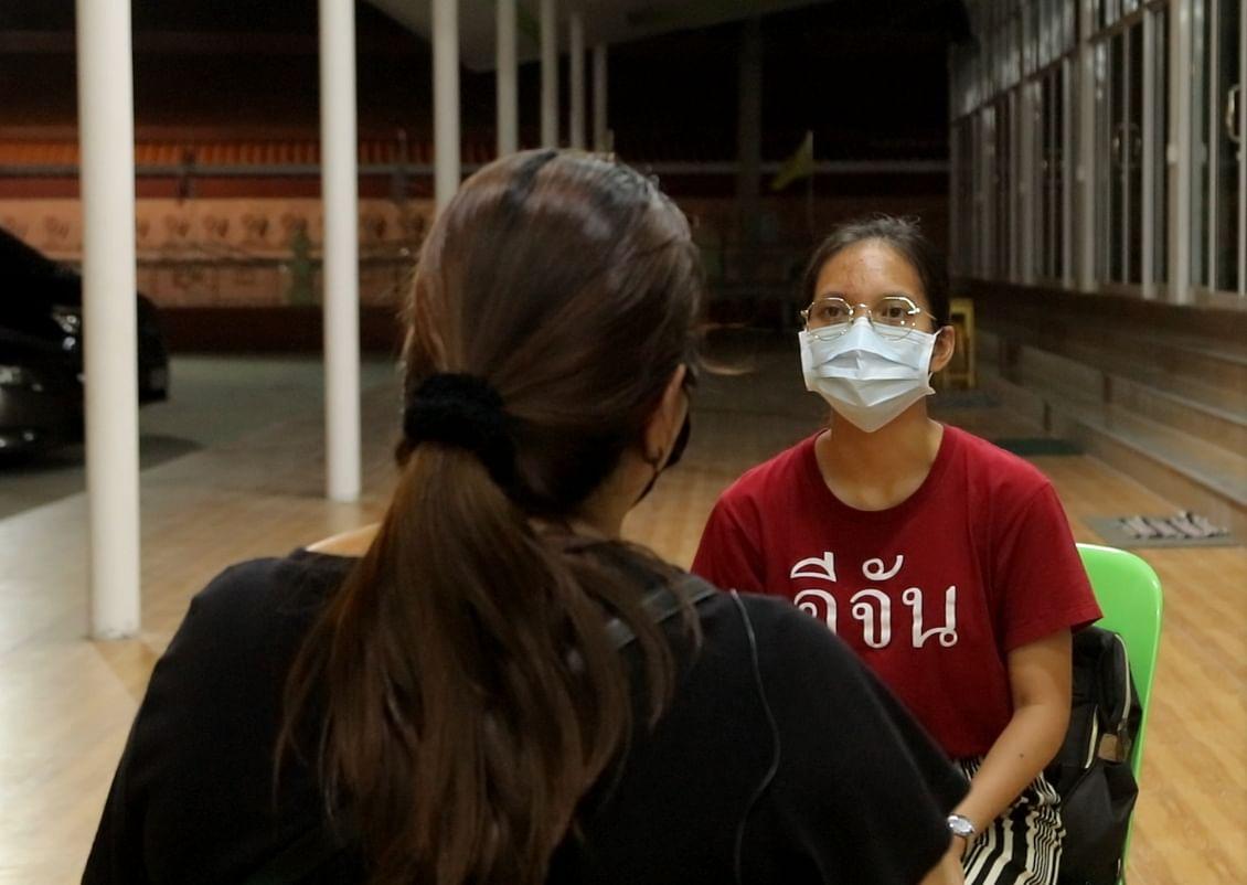 การสัมภาษณ์พี่สาวของพนักงานเซเว่น ที่ถูกกวินยิงเสียชีวิต