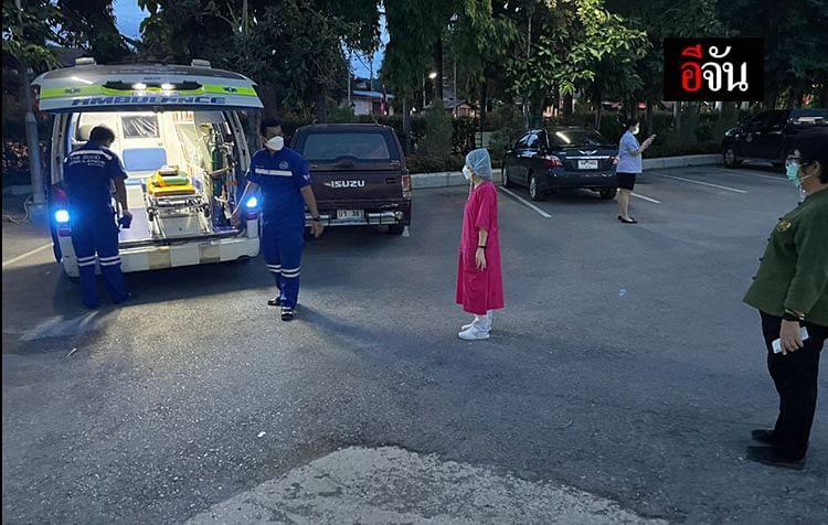 รถพยาบาลของโรงพยาบาลเอกชนแห่งหนึ่งใน กทม.