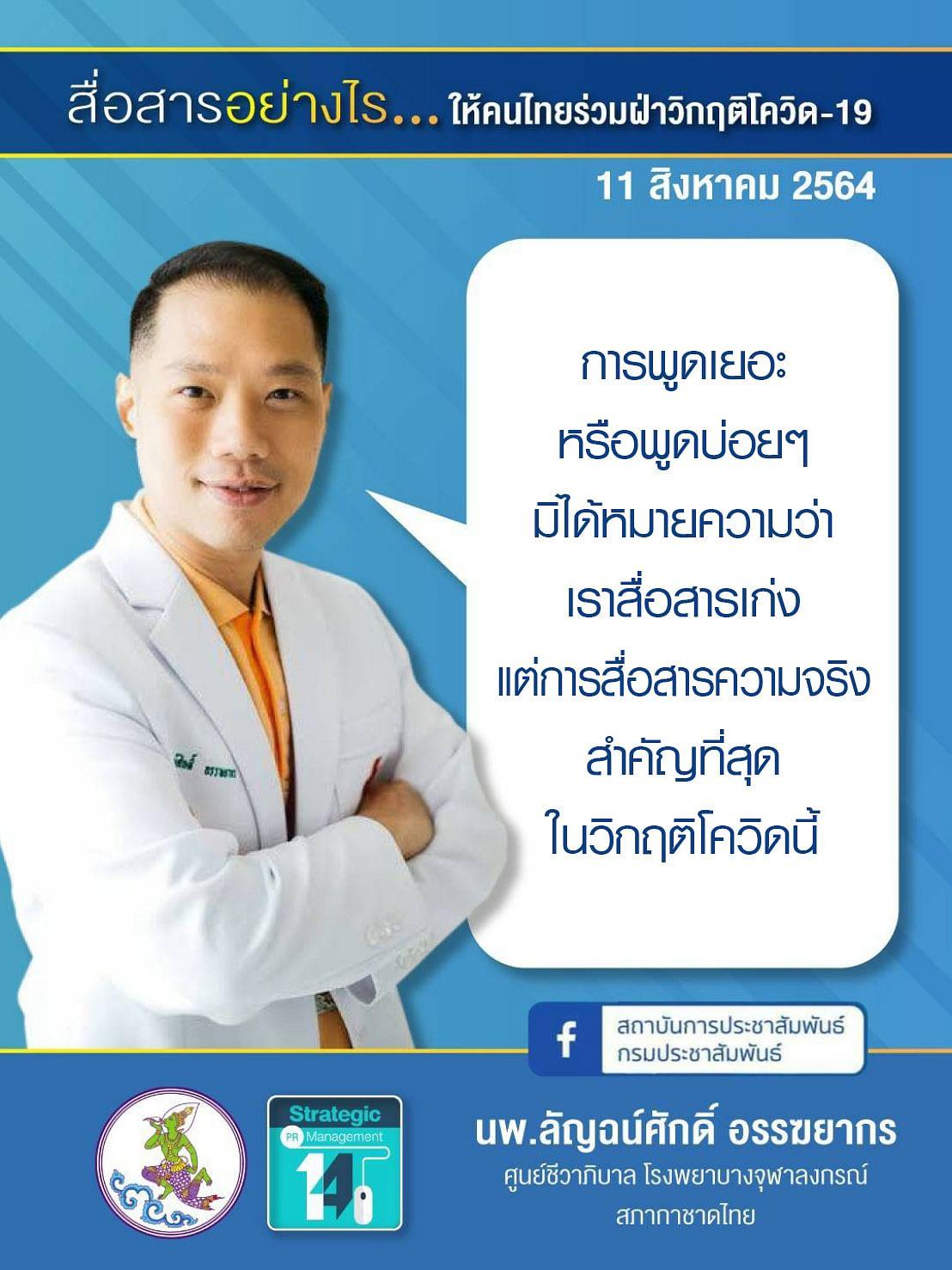 นพ.ลัญฉน์ศักดิ์ อรรฆยากร ศูนย์ชีวาภิบาล โรงพยาบาลจุฬาลงกรณ์