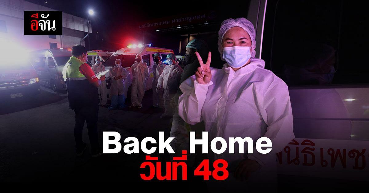 Back Home ช่วยบรรเทาวิกฤติเตียงเต็มได้แล้ว 1,888 เตียง