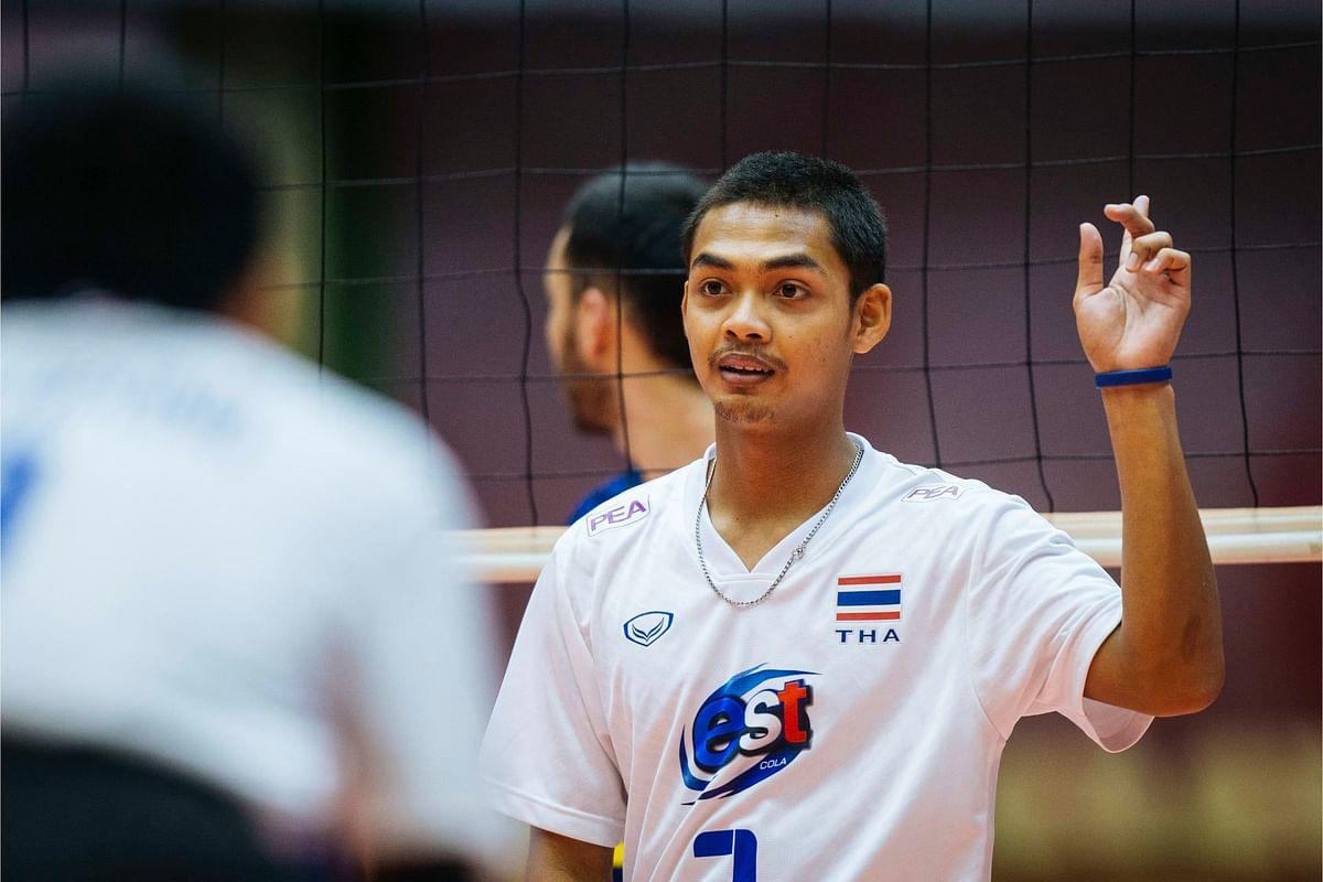 เชิดชัย ฉิมพิภพ นักวอลเลย์บอลทีมชาติไทย U19