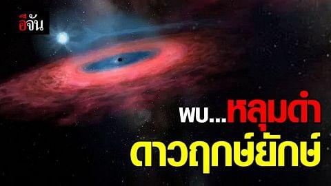 """นักดาราศาสตร์จีนพบ """"หลุมดำดาวฤกษ์ยักษ์"""" ในทางช้างเผือก"""