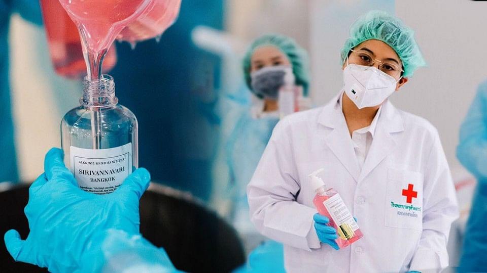 เจ้าฟ้าหญิงสิริวัณณวรีฯ ผลิตเจลแอลกอฮอล์ พระราชทานแก่แพทย์-พยาบาล ทั่วประเทศ
