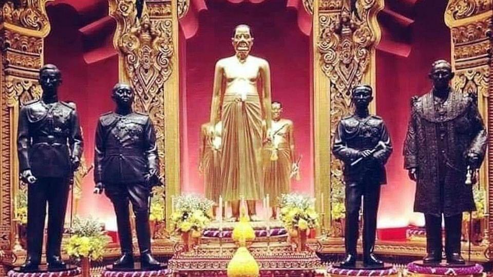 ร.10 ทรงโปรดเกล้าฯ ให้จัดสร้าง พระบรมรูป ในหลวง ร.9 ประดิษฐาน ณ ปราสาทพระเทพบิดร พระบรมมหาราชวัง