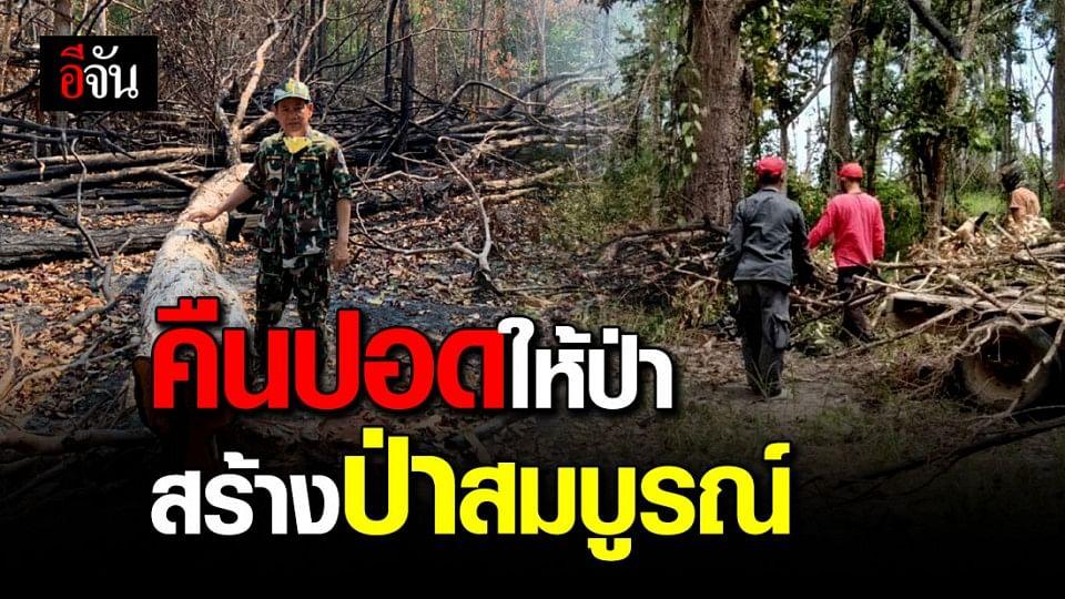 สร้างป่าสมบูรณ์! 11 ส.ค. 63 ปลูกป่าอาเซียน-ปล่อยสัตว์ป่า อุทยานฯ เขาพระวิหาร