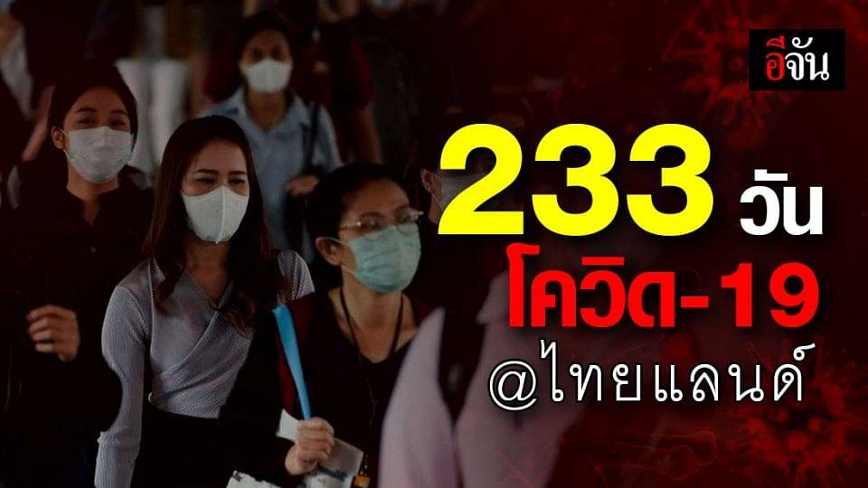 ไล่เหตุการณ์ โควิด-19 ในไทย จากวันแรกจนถึงวันนี้  ครบ 100 วันที่ไม่พบผู้ติดเชื้อในประเทศ