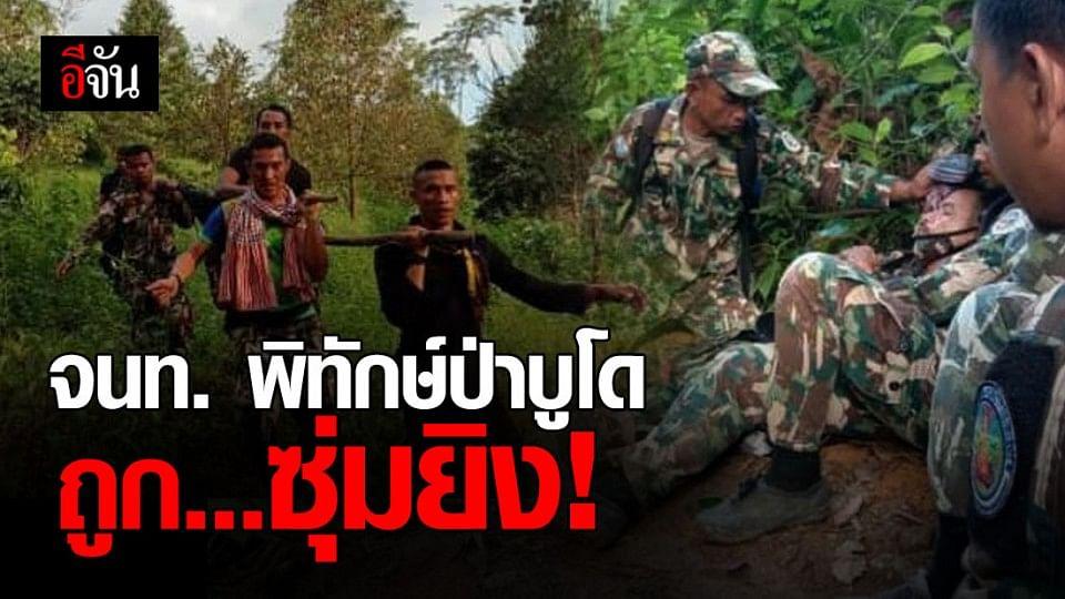 เจ้าหน้าที่พิทักษ์ป่าอุทยานแห่งชาติบูโด - สุไหงปาดี โดน ซุ่มยิง บาดเจ็บสาหัส