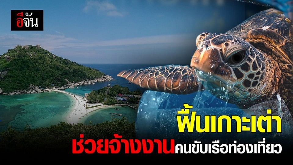 UNDP ประเทศไทย จับมือ ธนาคารกรุงไทย ระดมทุน จ้างงานคนขับเรือท่องเที่ยว บน เกาะเต่า