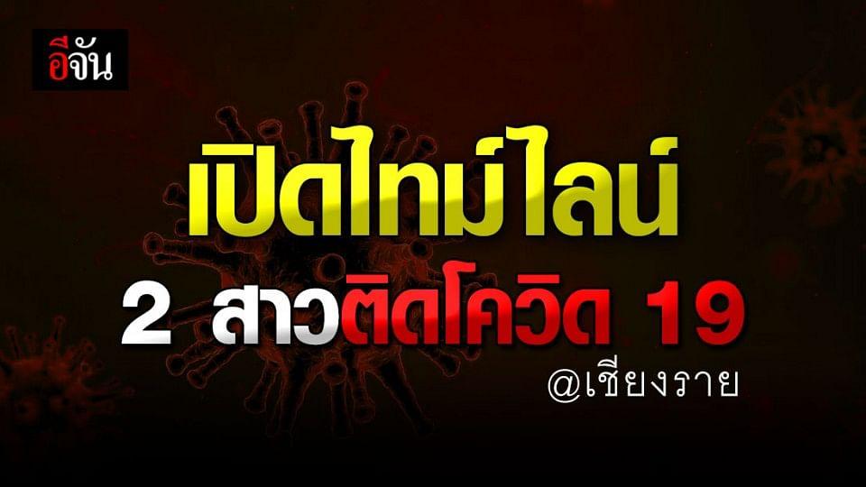 จ.เชียงราย เผย ไทม์ไลน์ 2 สาว ติดโควิด-19 หลัง ลักลอบเข้าไทย