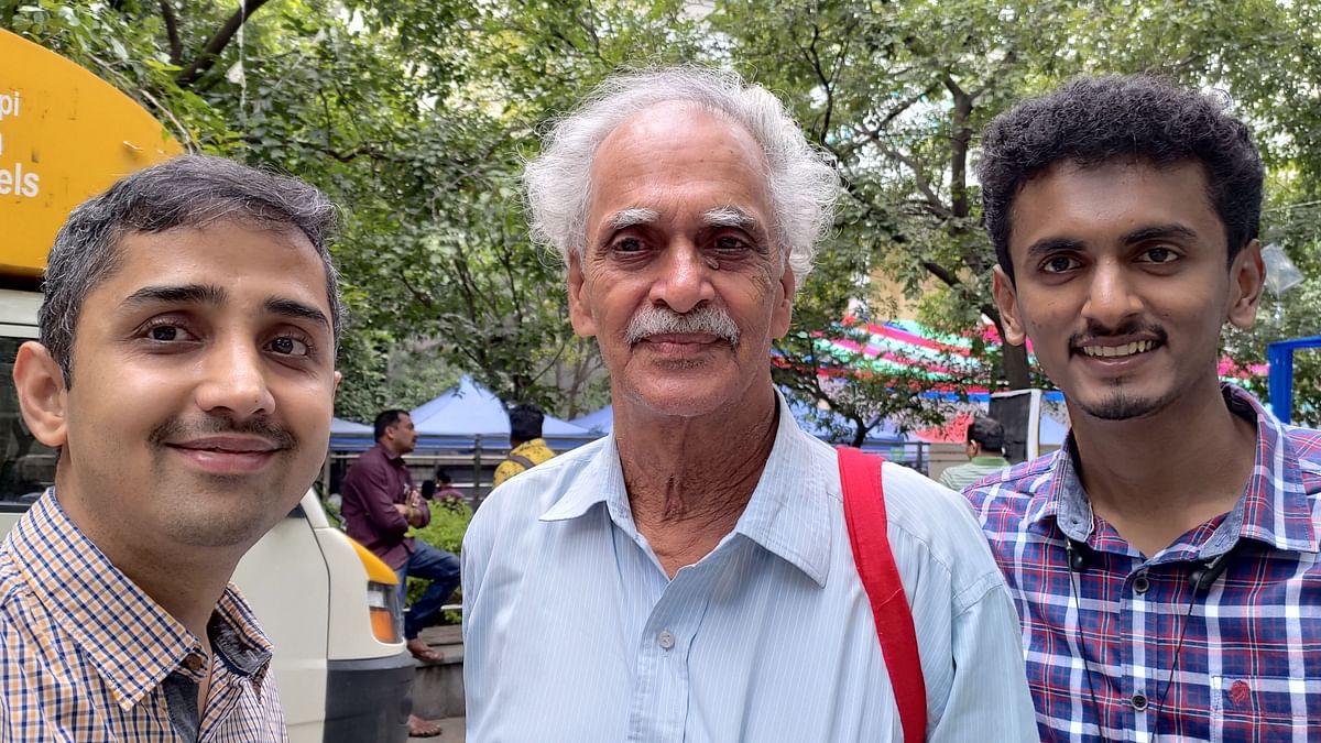 ಶ್ರೀ ಕೆ. ಪಿ. ರಾಯರ ಜೊತೆಗೆ ಇಜ್ಞಾನ ಸಂಪಾದಕರ ಸೆಲ್ಫಿ!