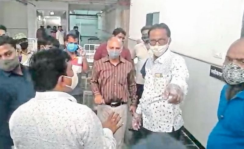 body was kept at the hospital