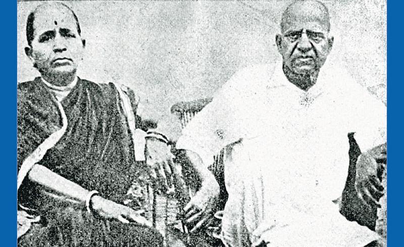 Dadasaheb Falake with Wife