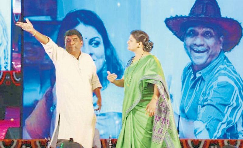 Bhau Kadam and Supriya Pathare