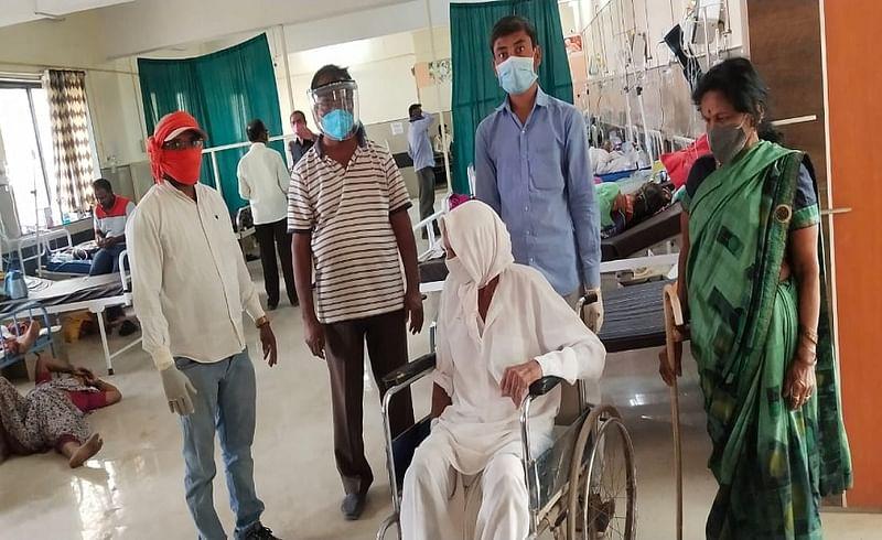 Beed Latest News  Freedom Fighter Defeated Coronavirus