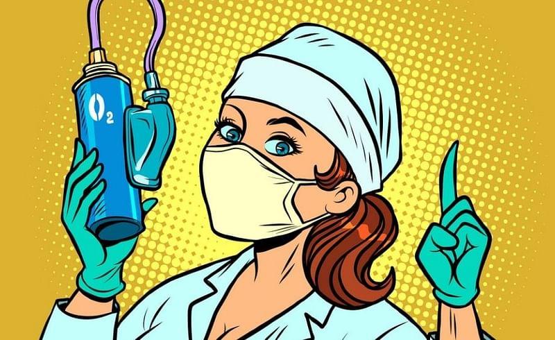 oxygen nurse