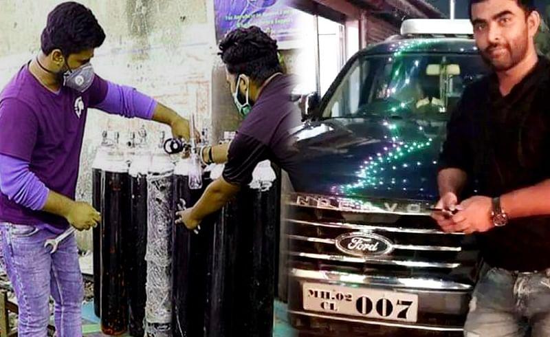 स्वत:ची SUV कार विकून गरजूंना ऑक्सिजन पुरवणारा मुंबईकर चर्चेत