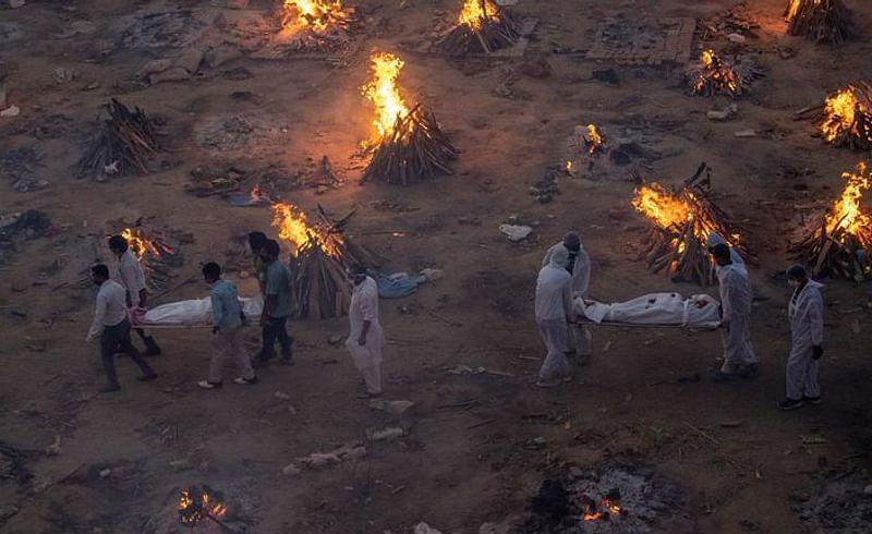 death body fire