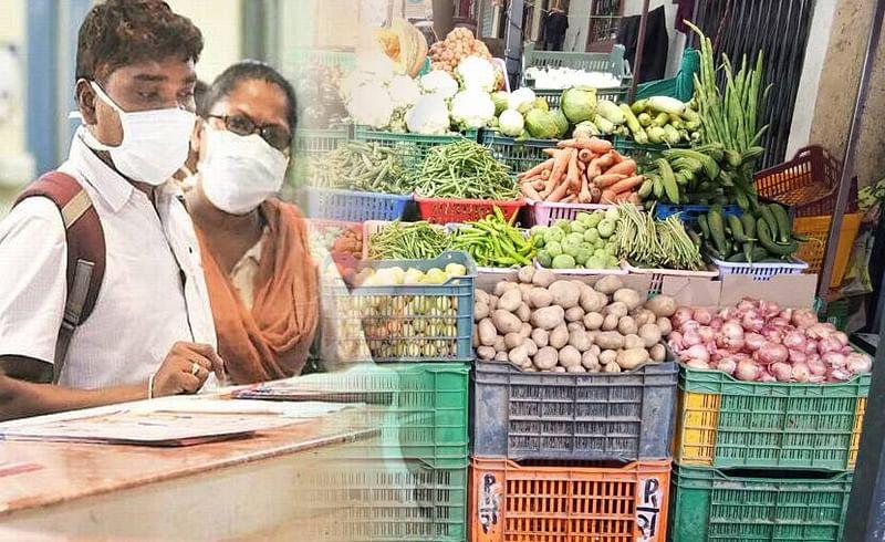 भाजी बाजारात भाजी व फळ विक्रीस मनाई