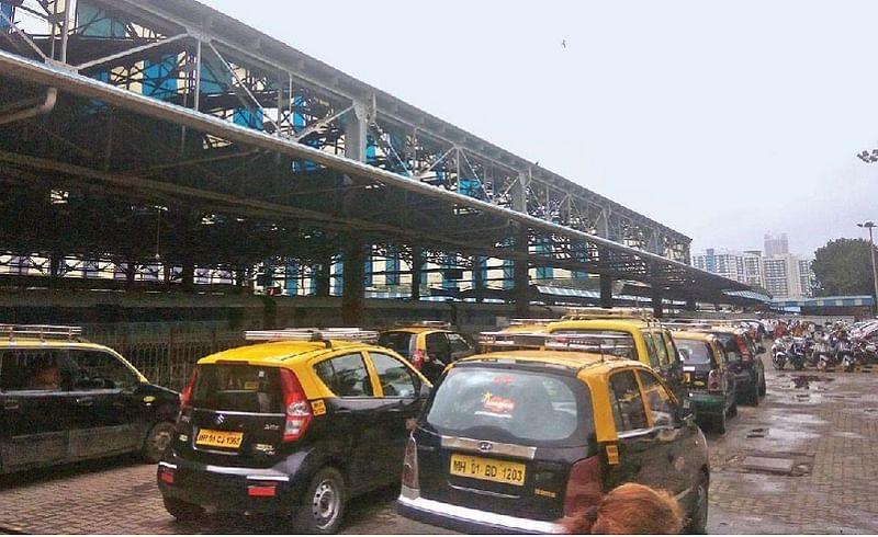 taxi driver left mumbai