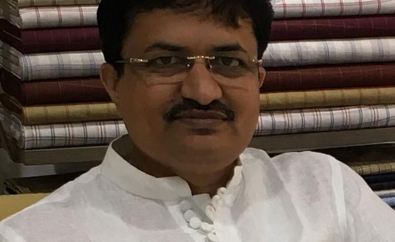sanjay Radand cloth showroom owner