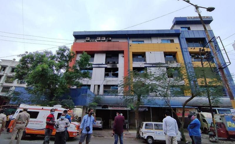 virar covid hospital fire