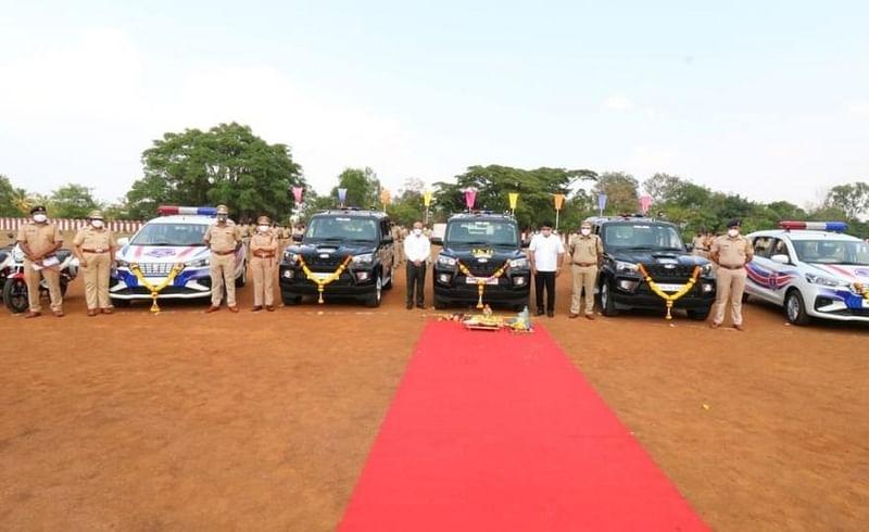 कोल्हापुरात गस्तीसाठी 51 वाहनांचा ताफा दाखल