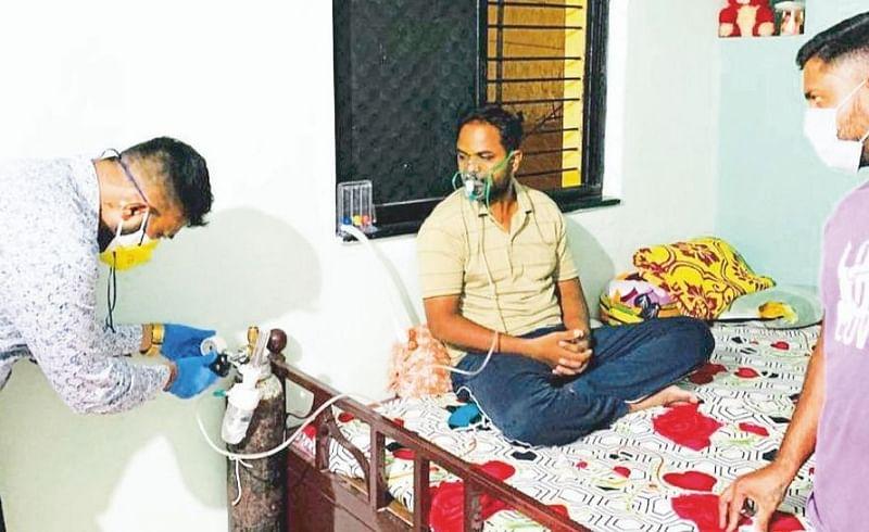 oxygen for needy people