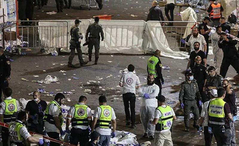 इस्रायलमध्ये भीषण चेंगराचेंगरीत 44 जणांचा मृत्यू