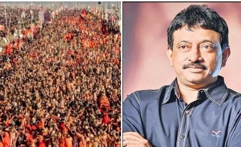filmmaker ram gopal varma got angry seeing huge crowd devotees kumbha mela