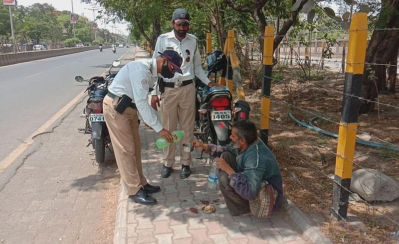 traffic police good work