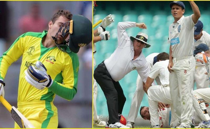 Cricketers-Injury