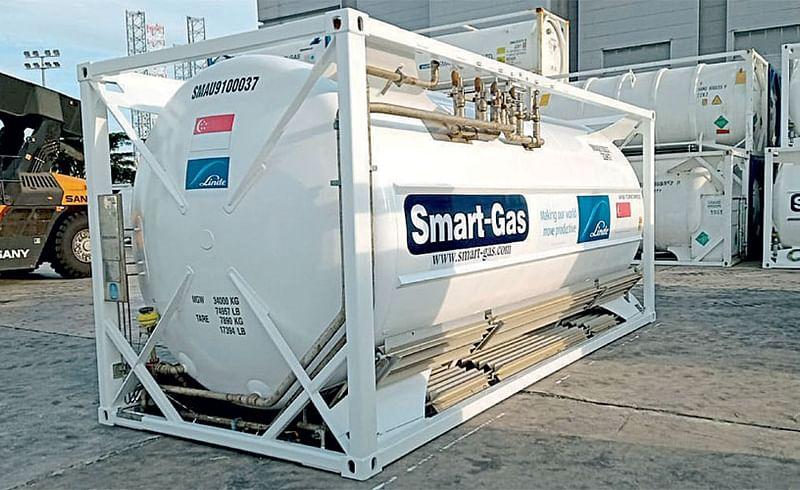 cryogenic oxygen tanker